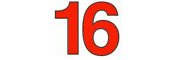 nombre 16 symbolisme