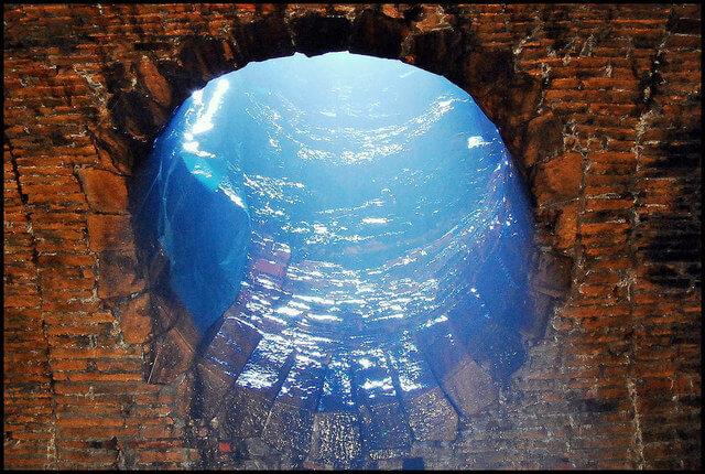 Rêve tunnel air femme en blanc