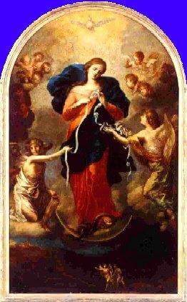 Prière à Marie qui défait les noeuds