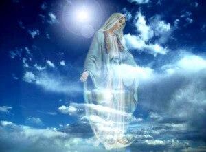 déesse mère à vierge cosmique
