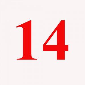 Signification symbolisme 14 quatorze for Chiffre 13 signification