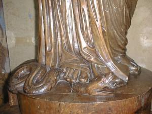 pied symbolisme du corps humain