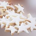 rêve de biscuits étoile et couronne Noel