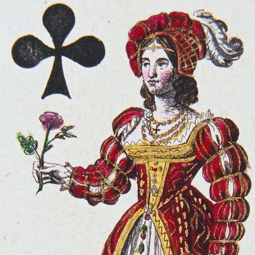 Dames du jeu de cartes