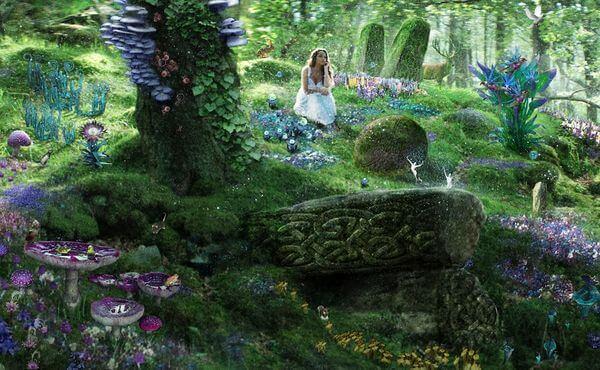rêve de militaires et de forêt enchantée