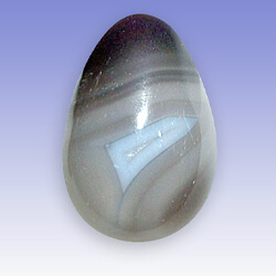 oeuf attraction agate rubanée