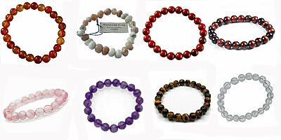 Bracelets Perles Mineraux
