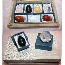 Coffrets minéraux
