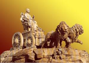 Lions de Cybèle