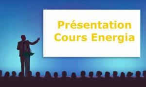 Cours Energia présentation